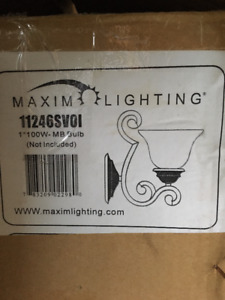Pair of Wall Sconces brand new