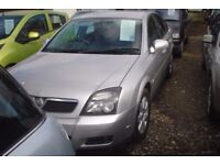 Vauxhall Vectra dti 2005-55-reg, 1910 cc turbo diesel,, high miles, new engine has been fitted,