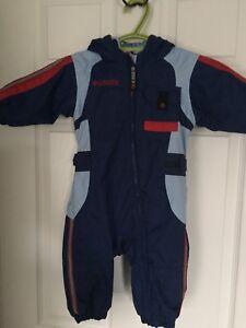 Infant Columbia snowsuit