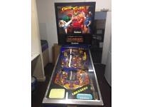 StreetFighter pinball machine ( rare )