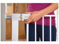Pressure Fit Metal Safety Gate (2000 positive reviews)/ Baby Gate/ Pet Gate (74cm height)