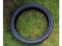 KINGSTONE 110/70/17 MOTORBIKE TYRE GOOD TREAD SINNIS APACHE PULSE ADRENALINE LEXMOTO BARGAIN