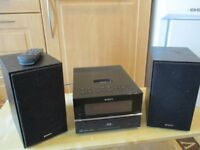 Sony Micro Hi-Fi Component System with CD, IPod and DAB facility