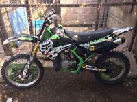 Race ready Kawasaki Kx85 not cr rm yz 125 85 250 450 600 swap