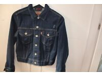 Classic womens red label Levis Jacket