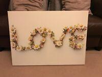 """Love"" Canvas Picture"