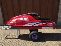 Yamaha Superjet 701 stand up jet ski