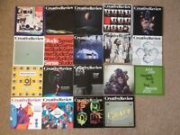 16 Issues of Creative Review plus 3 supplements. Issue titles and numbers in photo.