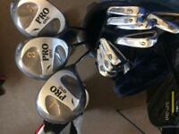 Almost new Full set of men's golf clubs