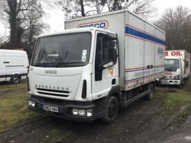 2004 IVECO EURO CARGO 75E18 SIX CYLINDER 7.5 TON BOX ONE OWNER
