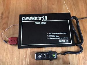 MRC CONTROL MASTER 20 Power Center model Train controller USA
