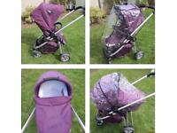 Icandy cherry travel system . I candy pram . Buggy . Pushchair. Stroller