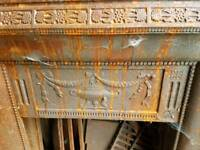 Cast iron fireplace surrounds