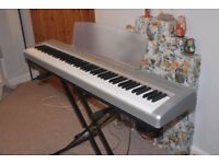 Yamaha P-95S Digital Piano in Silver