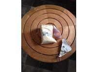 Eucalyptus wood round table