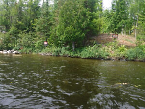 Lot for sale on Pickerel River System Loring Restoule Vacationla