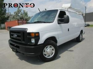 2011 Ford Econoline E-250 ** Rack a echelle ** Tablettes **