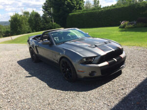 FORD MUSTANG SHELBY GT 500 625 HP - 2010 - CONVERTIBLE