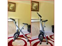 ULTRA SPORTS F-BIKE EXERCISE BIKE WITH HEART RATE SENSORS , BRAND NEW CONDITION..