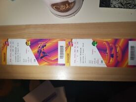 I.A.F.F WORLD CHAMPIONSHIP LONDON 2017 TICKETS X2