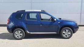 Dacia Duster Diesel Estate Laureate (blue) 2017-03-30