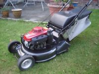 "Honda HRH536 Pro Roller, 21"" Self Propelled Lawnmower. 5.5HP Serviced, New Bag"