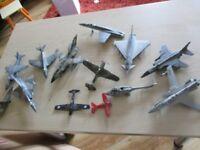 airfix model aeroplanes - broken