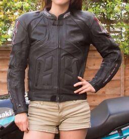 RST Leather Jacket; black; man/woman