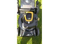 NEW Mc culloch Briggs 450e eng (Self-Propelled) petrol lawn mower (Shop Soiled)
