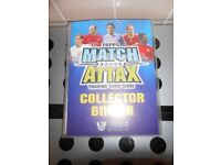 MATCH ATTAX TRADING CARD GAME COLLECTOR BINDER 2008/09