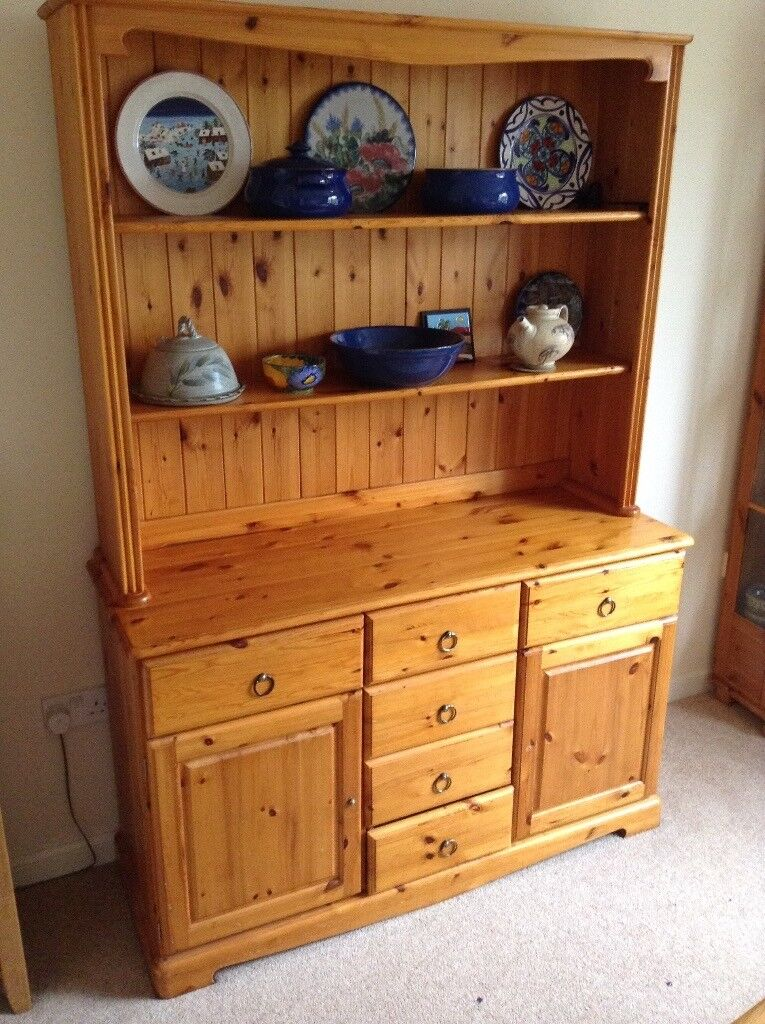 Pine dresserin Dunblane, StirlingGumtree - Pine dresser good clean condition. 130cm wide, 185cm high and 45cm deep. Signs of general family use