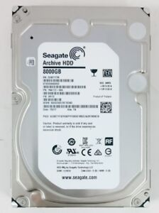 Seagate Desktop Hard Drives 6TB  and 8TB Like New condition.