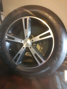 4 Tires New!!/ and rims 9/10