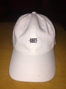 NEW Obey Dad hat (White)