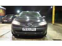 2003 RENAULT MEGANE 16V REG 1.4 PETROL 3 DOOR HATCHBACK 12 MONTH MOT LOTS SPENT ON PARTS