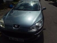 FOR SALE Peugeot 407 SALOON 2.0 Diesel, Grey, Good and cheap to run