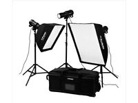 PROFOTO extended D1 kit (4 heads) with the air remote