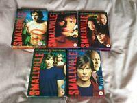 Smallville DVD box sets - seasons 1-5