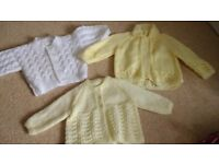 5 soft knitted cardigans