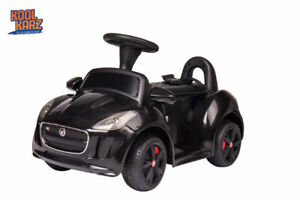 KIDS RIDE ON TOY CARS- JAGUAR AND LAND ROVER MINI
