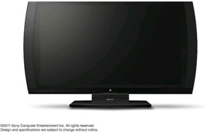 """Excellent Condition 24"""" 1080p Sony PS3 3D TV"""