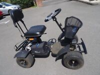Golf Buggy Powerhouse Pro Titan VGC only 18 mths £700 inc Lithium Battery,ramps,steering wheel