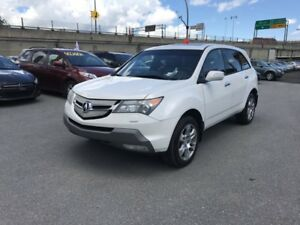2007 Acura MDX ELITE TECH PACKAGE FINANCEMENT