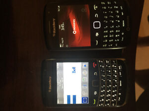 Blackberry curve and bold. Unlocked to all carriers