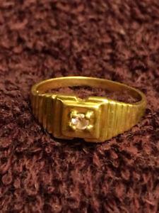 Size 2, 14K Gold Ring