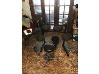 Rocktronic DD502 electric drum kit - drum set
