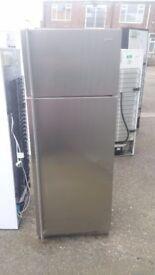 SMEG Stainless Steel Fridge Freezer (6 Month Warranty)