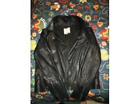Fat Face soft leather jacket size 14