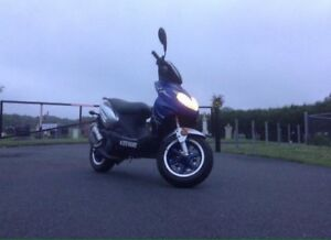 Keeway f-act 50 2009 all stock