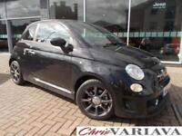 2016 Abarth 595 1.4 T-Jet 140 3dr ** ONE PRIVATE OWNER, LOW MILEAGE ** Petrol bl